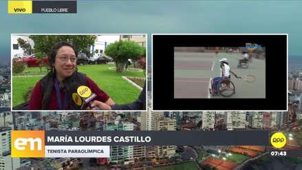 Una tenista con discapacidad consiguió pasajes para viajar a Ecuador tras exponer su caso en RPP
