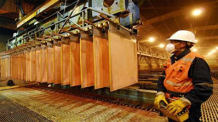 Exportaciones de cobre representan el 30% de los envíos totales del Perú al extranjero, según la SNMPE