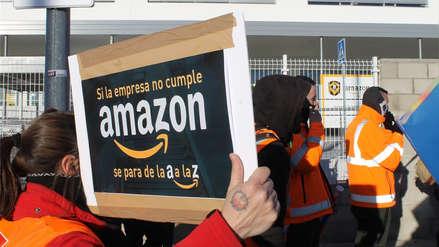 Black Friday: Trabajadores de Amazon en España, Alemania y Gran Bretaña están en huelga