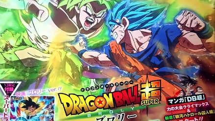 Dragon Ball Super | Gokú y Broly se enfrentan en nuevas imágenes de la próxima película