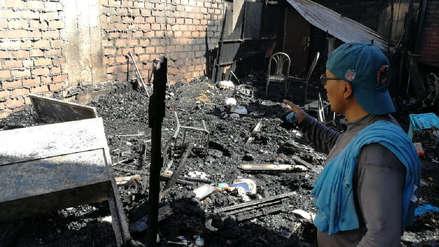 Más de 40 gallos de pelea murieron en incendio en Arequipa