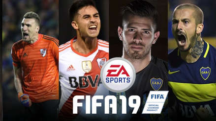 FIFA 19 | Estos son los tres jugadores con mejores valoraciones del Boca Juniors y el River Plate