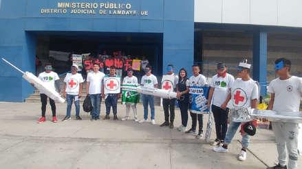 Adolescentes del programa 'Justicia Restaurativa' realizan campaña de sensibilización