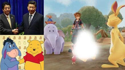 Winnie Pooh ofende al presidente Chino y es censurado de Kingdom Hearts 3 de extraña manera