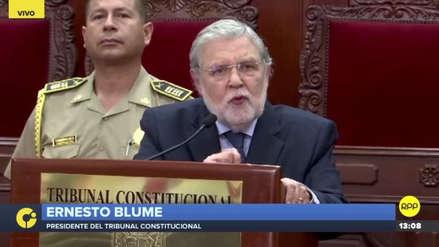 """Ernesto Blume: """"La sentencia Humala-Heredia sobre prisión preventiva sentó estándares que deben cumplirse"""""""