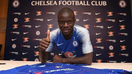 N'Golo Kanté rechazó al PSG y renovó por cinco años con el Chelsea | VIDEO