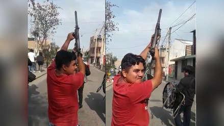 Detienen a hombre que hizo disparos al aire en entierro de delincuente asesinado en Challapalca [VIDEO]