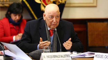 Políticos lamentan el fallecimiento de Enrique Bernales