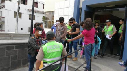 Adolescentes asaltaron con machetes a jóvenes en el cercado de Arequipa