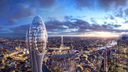 The Tulip, el vistoso rascacielos que el famoso arquitecto Norman Foster tiene pensado para Londres