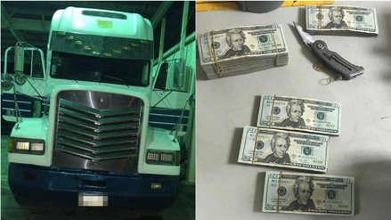 Costa Rica decomisó US$ 1.6 millones de dólares en camión procedente de Honduras