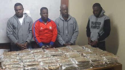 Más de 100 kilos de droga se decomisó en Arequipa