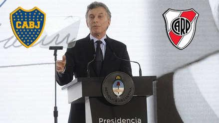 Mauricio Macri arremetió contra los hinchas de River Plate por el ataque al bus de Boca Juniors