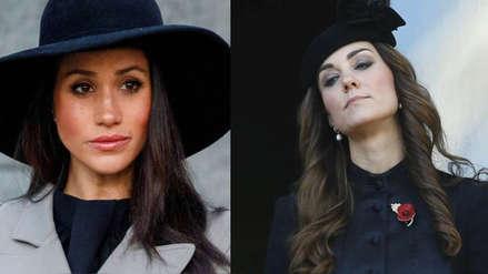 Meghan Markle y Kate Middleton no se soportan, según la prensa inglesa