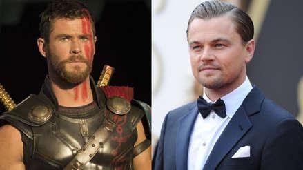 Leonardo DiCaprio ignoró a uno de los Avengers: no aceptó tomar una cerveza con Chris Hemsworth en Japón