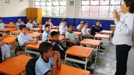 Minedu: Colegios no pueden impedir ingreso a escolares que lleguen tarde