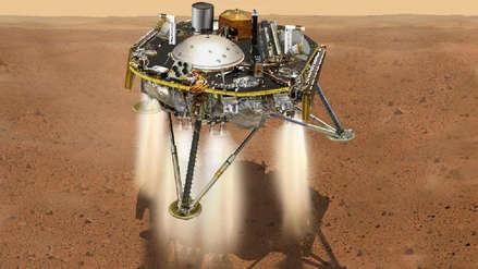 La sonda InSight de la NASA llega a Marte y se prepara para los