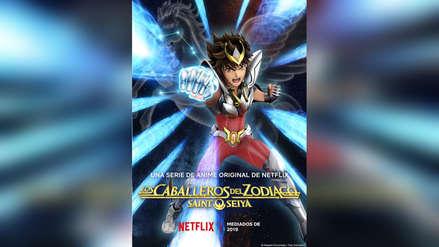 Saint Seiya en Netflix: Nueva imagen y fecha de estreno