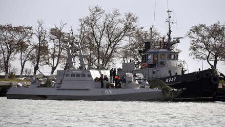 Video | Este es el momento en que Rusia embiste un buque ucraniano en el estrecho de Kerch