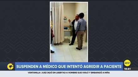 Lambayeque | EsSalud suspendió a médico que intentó golpear a una paciente con una silla