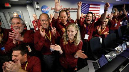 Fotos | Así vivió la NASA el aterrizaje con éxito de la sonda InSight en Marte