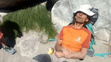 Video | Turista francés fue rescatado con vida en el Valle del Colca