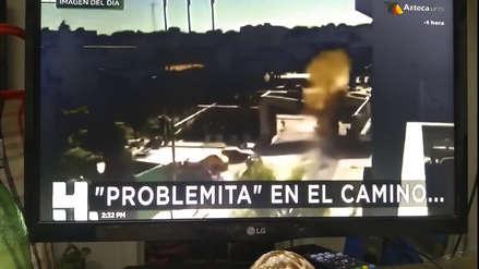 """Canal mexicano presentó filmación de escena de """"Capitán América: Civil War"""" como si fuera una noticia"""