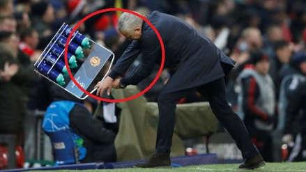 José Mourinho y su alocada reacción tras el gol que clasificó a Manchester United