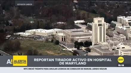 EE.UU. | Reporte de tiroteo en hospital militar de Maryland resultó ser un simulacro