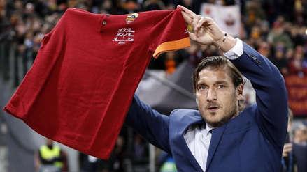 Roma vs. Real Madrid: el emotivo homenaje del club italiano a Francesco Totti