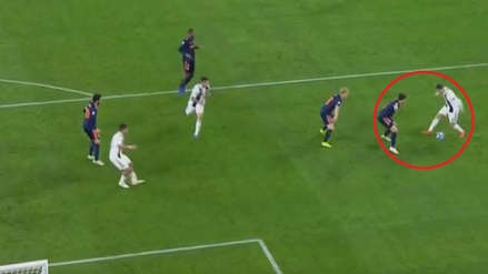 Juventus: la gran jugada de Cristiano Ronaldo para el gol de Mario Mandzukic