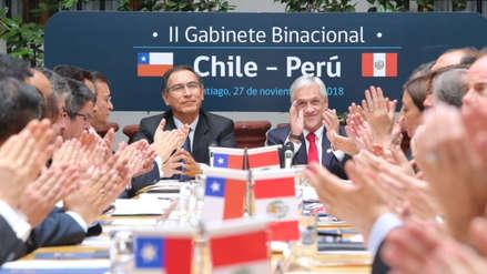 Perú y Chile suscriben 160 compromisos como parte de la Declaración de Santiago
