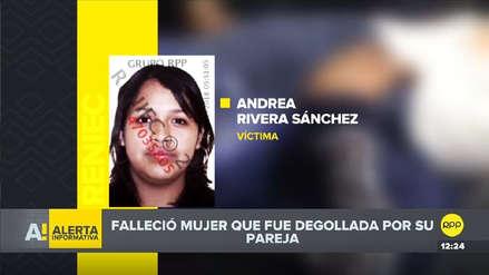 Murió la mujer que fue degollada por su expareja en Chorrillos