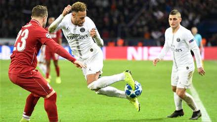 Neymar humilló a Shaqiri con una increíble 'bicicleta' en la Champions League