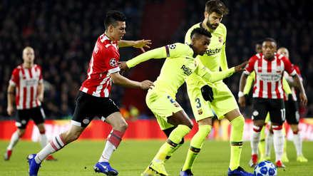 Barcelona vs. PSV Eindhoven: resumen, goles y mejores jugadas del partido por Champions League