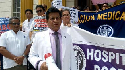 Diez mil pacientes se dejarán de atender por paro médico en Lambayeque