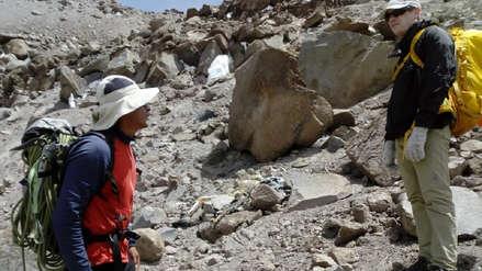 Guía de alta montaña halló el cadáver de un turista en el volcán Coropuna