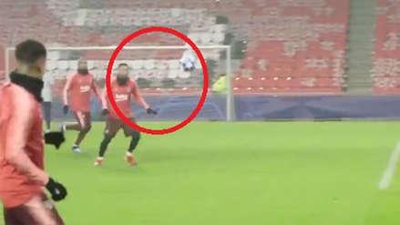 Barcelona vs. PSV: Lionel Messi y su golazo de pierna derecha previo al partido