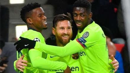 Con golazo de Lionel Messi, Barcelona venció al PSV y confirmó su pase a octavos de final
