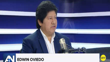 Edwin Oviedo se defiende: