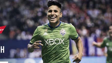 Raúl Ruidíaz nominado al premio 'Latino del Año' en la MLS 2018
