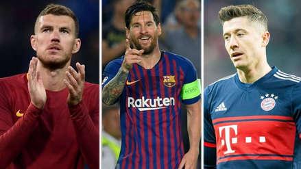 Champions League: los 10 máximos goleadores del torneo