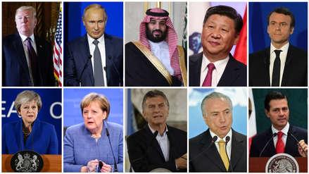 La cumbre del G20 en Argentina recibe a los líderes mundiales que llegan con escándalos