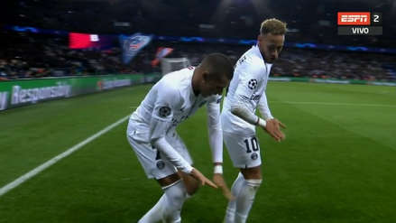 Psg The Curious Celebration Of Neymar And Kylian Mbappe After The