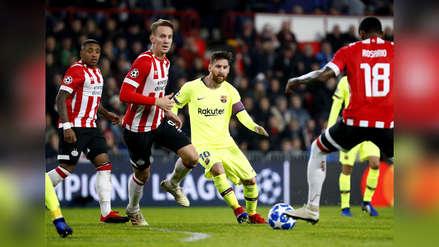 Messi eludió a cinco rivales y marcó este golazo en la Champions | VIDEO