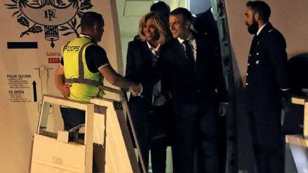 Presidente de Francia no logra escapar del