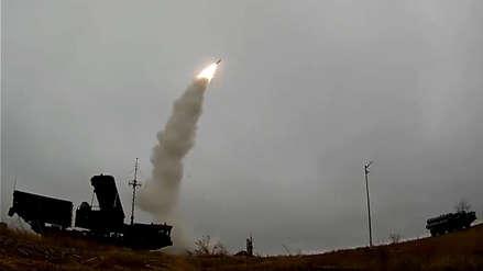 Video | Rusia prueba los misiles S-400 que desplegará en Crimea en medio de tensiones con Ucrania