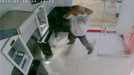 Exalcalde fue condenado por atacar a piedrazos un cajero automático