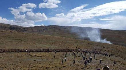 Un muerto y varios heridos tras enfrentamientos en Chumbivilcas