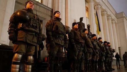 """Primer ministro de Ucrania: """"Tenemos que luchar por nuestra independencia"""""""